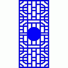 Cnc Panel Laser Cut Pattern File cn-l79 Free CDR Vectors Art