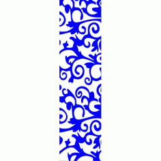 Cnc Panel Laser Cut Pattern File cn-l68 Free CDR Vectors Art