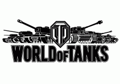 World Of Tanks Logo Free CDR Vectors Art