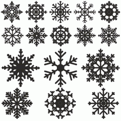 Snowflake Abstract Design Free CDR Vectors Art