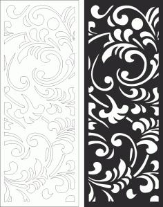Wall Panels Screen Decorative Cnc Laser Free CDR Vectors Art