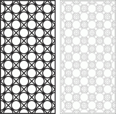 Abstract Geometric Pattern Classic Free CDR Vectors Art
