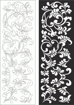 Floral Pattern Design 4545 Free CDR Vectors Art