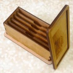 Money Box File Download For Laser Cut Free CDR Vectors Art